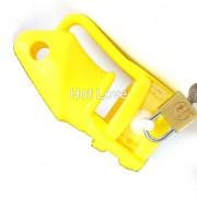 Keuschheitskäfig ergonomisch für Penis Glied Mann Herren Chastity Cage Silikon gelb B002yellow