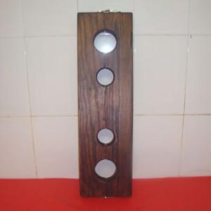 Holzpranger Pranger Füße & Hände 4 Löcher - MJ-04