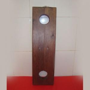 Holzpranger Pranger für Füße 2 Löcher - MJ-05